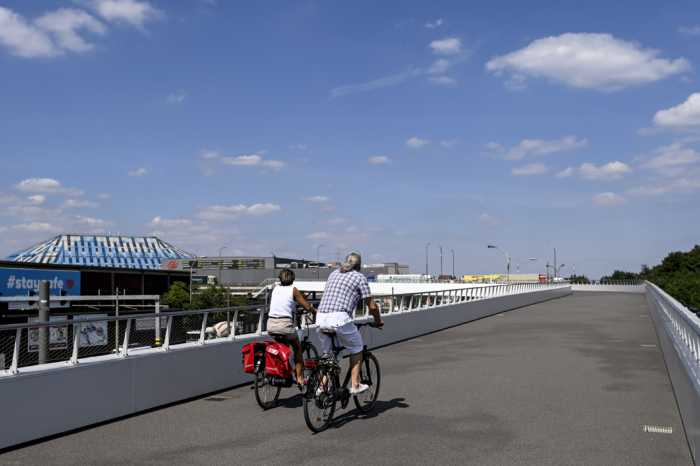Antwerp speeds up construction of 19 km of cycle lanes