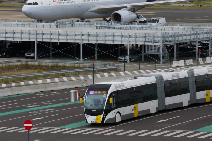 Ring Tram-Bus to Brussels Airport inaugurated