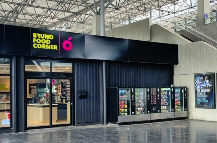 Group Bruno to build food empire in train stations