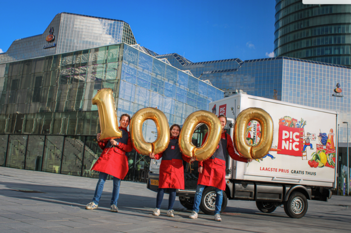 Dutch Picnic launches 1 000th electric delivery van