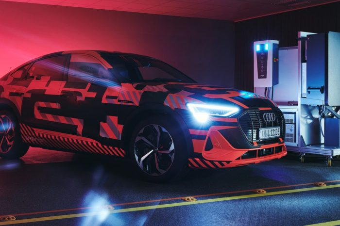 Audi teams up with Hager for bi-directional V2H charging