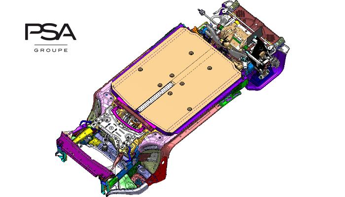 PSA develops platform for larger EV models