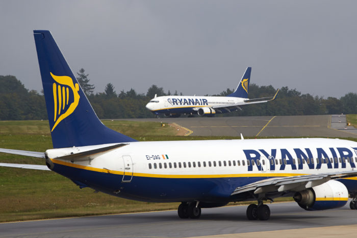 €185 million loss for financially sound Ryanair