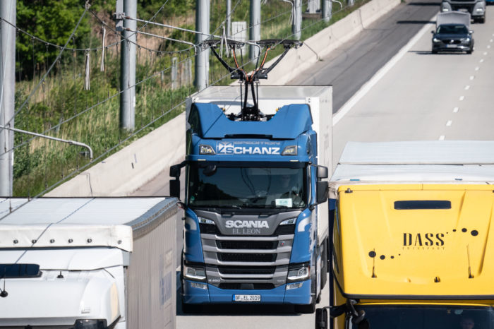 British research: electrifying highways for greener transport