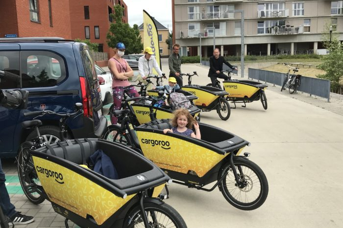 Leuven introduces shared electric cargo bikes
