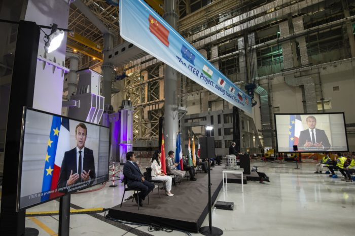 ITER assembly brings nuclear fusion one step closer