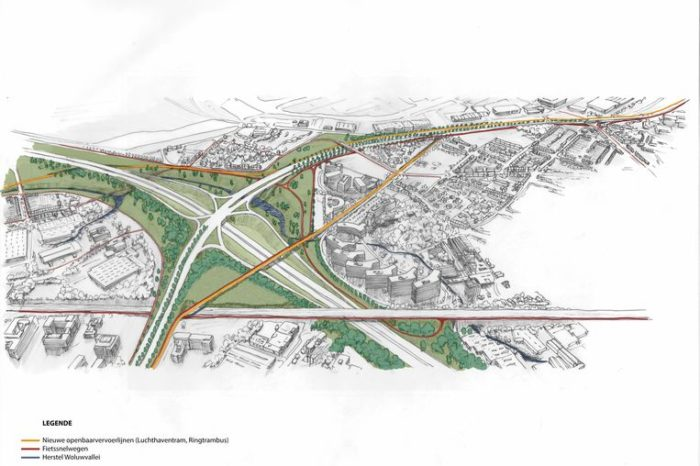 Airport junction on Brussels Ring gets complete makeover