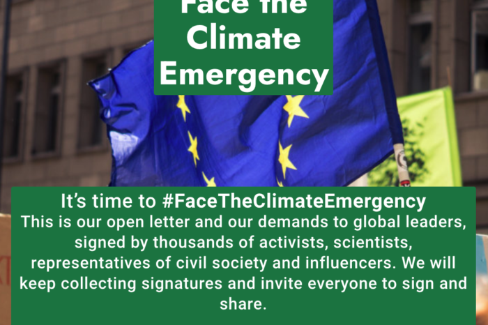 Young activists call on EU to treat climate change as a crisis