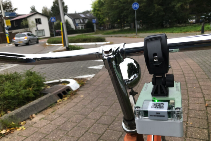 Utrecht measures air quality using 'sniffer bikes'