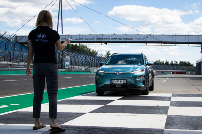 World (range) record for Hyundai Kona Electric