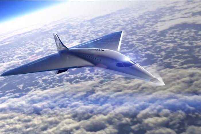 Virgin Galactic shows supersonic passenger plane design