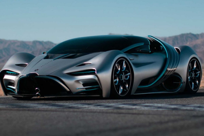 Hyperion XP-1 supercar: 'hydrogen message through a product'