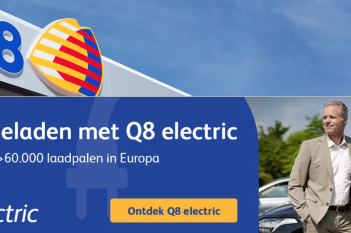 Q8 also goes electric in Belgium