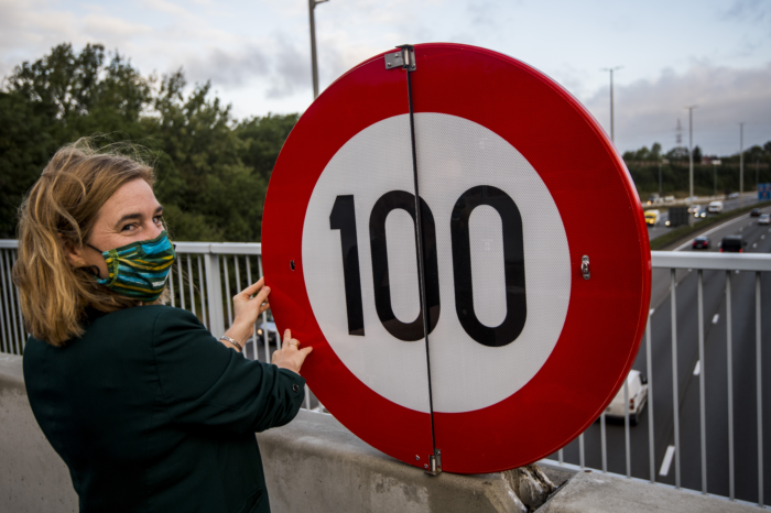 100 km/h on Brussels Ring Road as of September