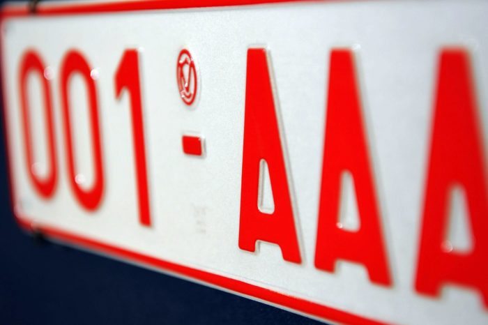 Belgium: license plates starting with number 2 coming up