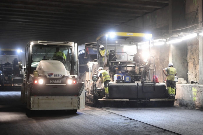 Brussels Rogier and Botanique tunnels reopened