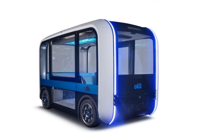 '3D-printed' self-driving Olli debuts in Ghent hospital