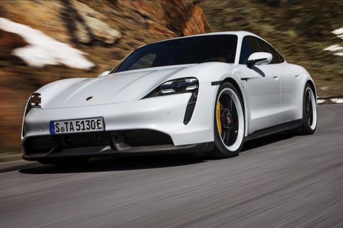 Taycan best selling Porsche in Europe