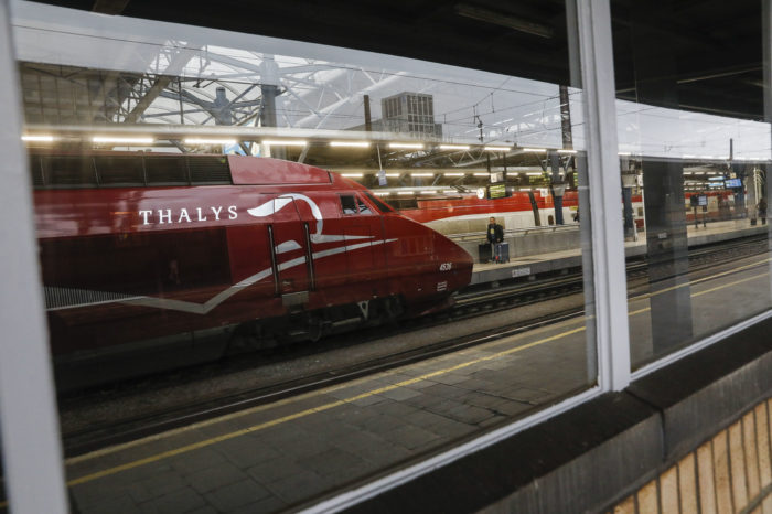 Thalys: 'from 20 000 to 200 passengers a day'