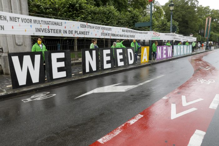 Greenpeace's 2040 carbon-neutral plan: 'no ICE cars after 2028'