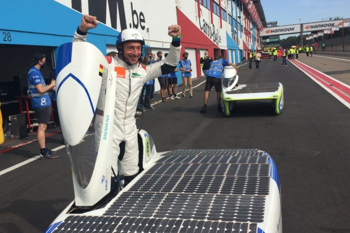 Belgian team wins European Championship for solar cars