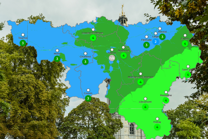 Walloon website provides real-time air quality info