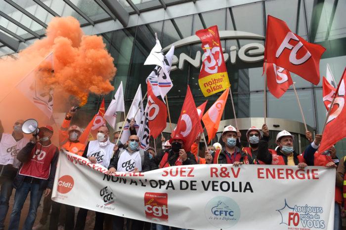Veolia: take-over bid of €7,9 billion on Suez (update)