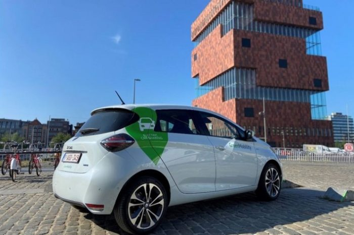 GreenMobility deploys 150 electric shared cars in Antwerp