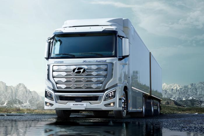 Hyundai XCIENT Fuel Cell trucks hit the road in Switzerland