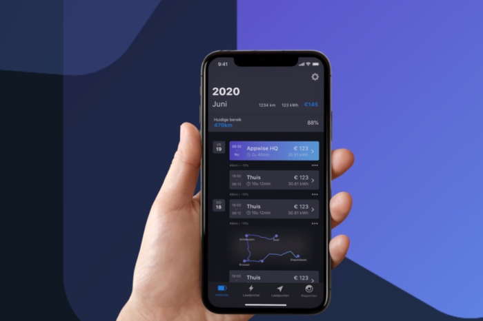 EEVEE app, a new mobility accountant