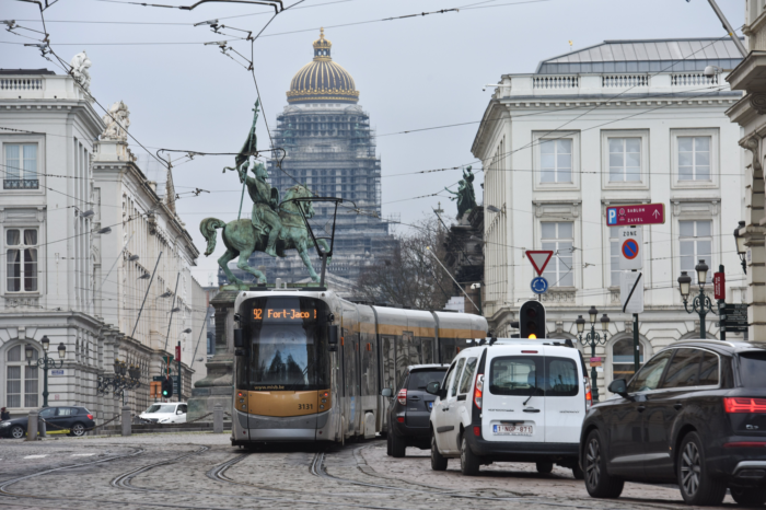 More than half of Brussels' households do not have a car