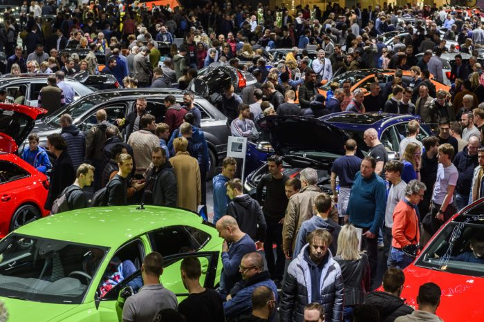 Is there a future for the traditional motor show?