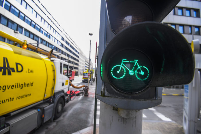 Brussels: 87% more cyclists in September