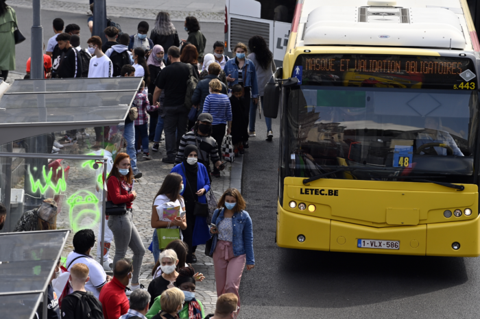 Are busy Liège TEC buses a breeding ground for coronavirus?