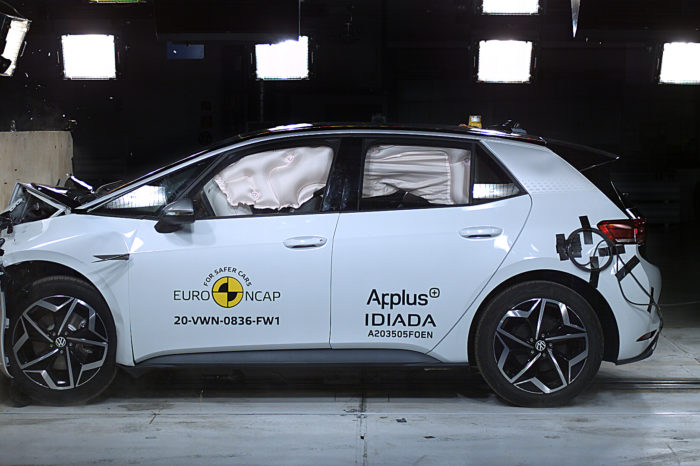 VW ID.3, bestseller in the Netherlands, gets 5 star EuroNCAP rating