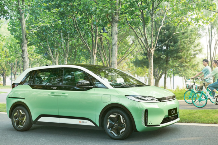 Didi D1, a Chinese EV for ride-sharing