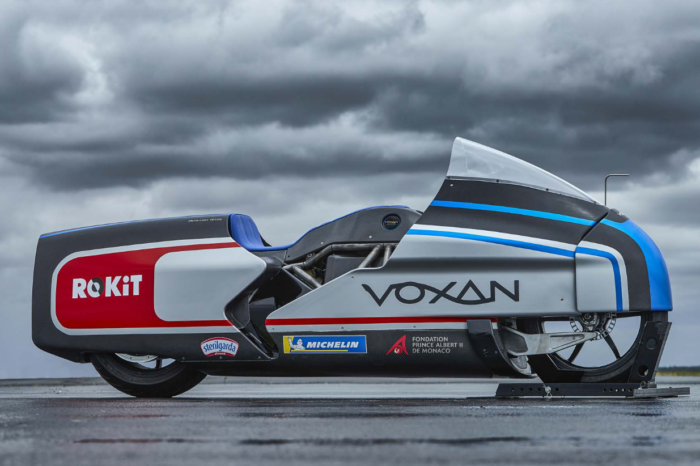 Voxan Wattman e-bike aspires to +400 km/h speed record