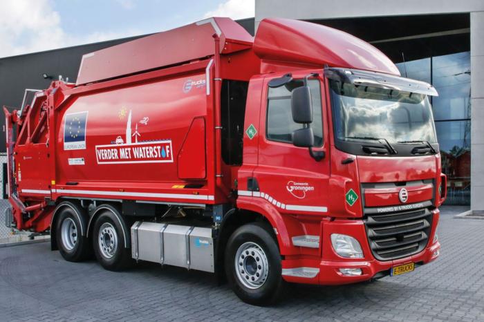 Antwerp gets two garbage trucks on hydrogen
