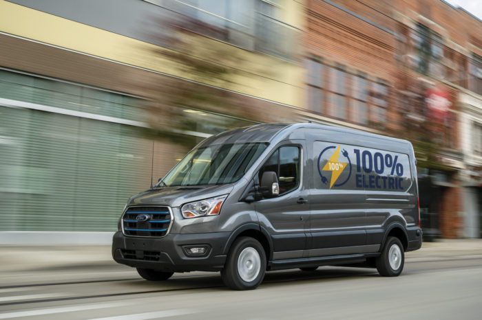 Ford launches fully electric Transit
