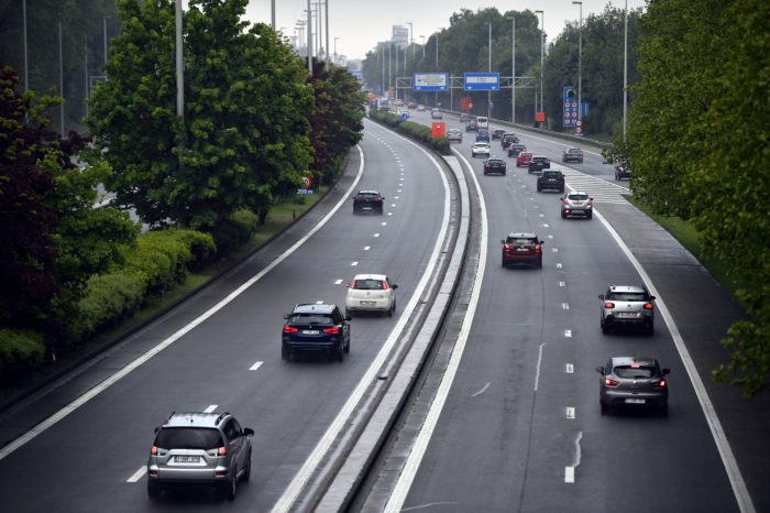 77% less traffic congestion in second week of November