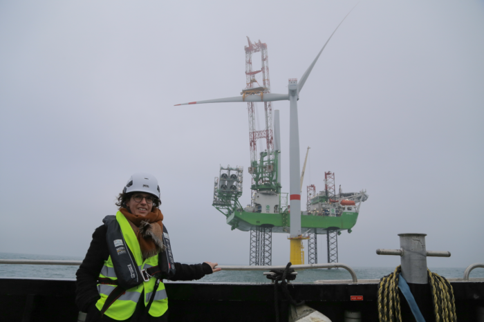 Largest Belgian offshore wind farm ready for use