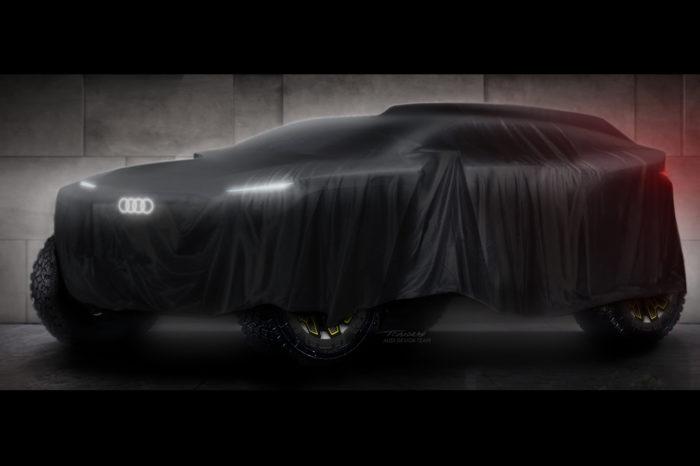 Audi to take part in 2022 Dakar Rally with electrified prototype