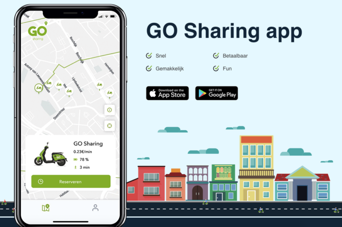 Antwerp to welcome 500 Dutch Go Sharing e-scooters