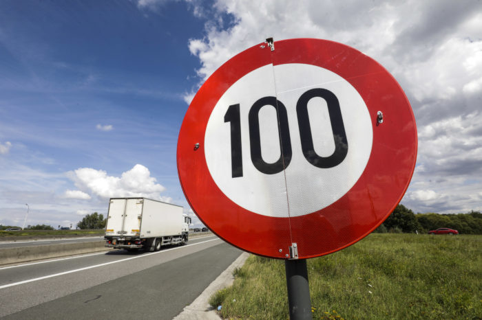 Brussels ring: 55 586 motorists speeding above 100 kph