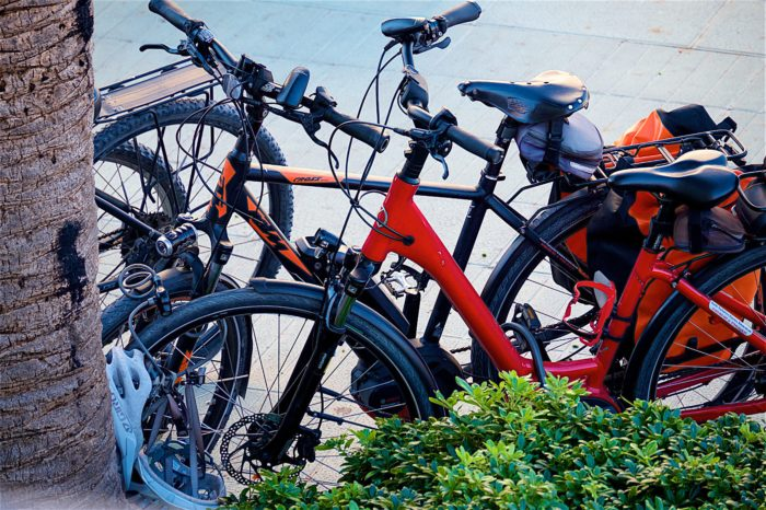 Touring: '232 bicycles stolen a day'