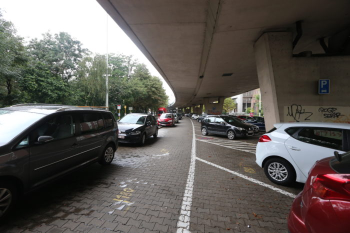 Brussels to make Park & Ride parkings paying