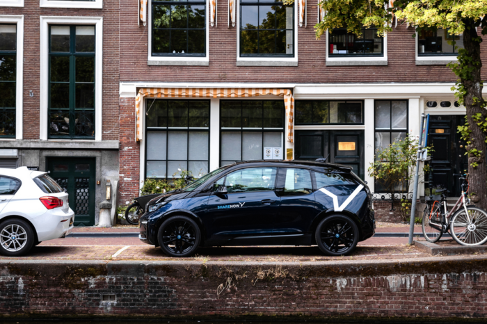 Share Now adds 70 BMW i3s to its Amsterdam fleet