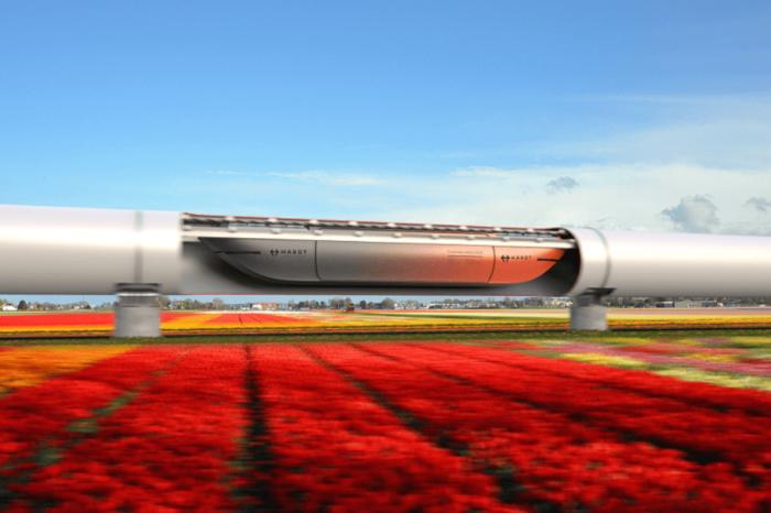Dutch to study hyperloop cargo link Rotterdam-Amsterdam