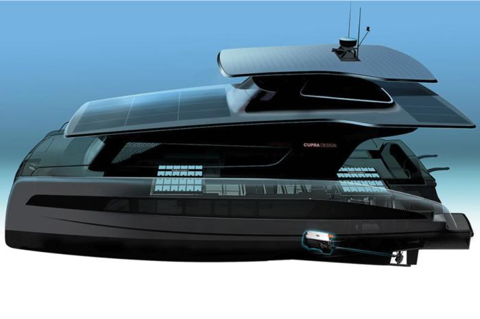 Volkswagen's MEB to power luxury electric catamarans