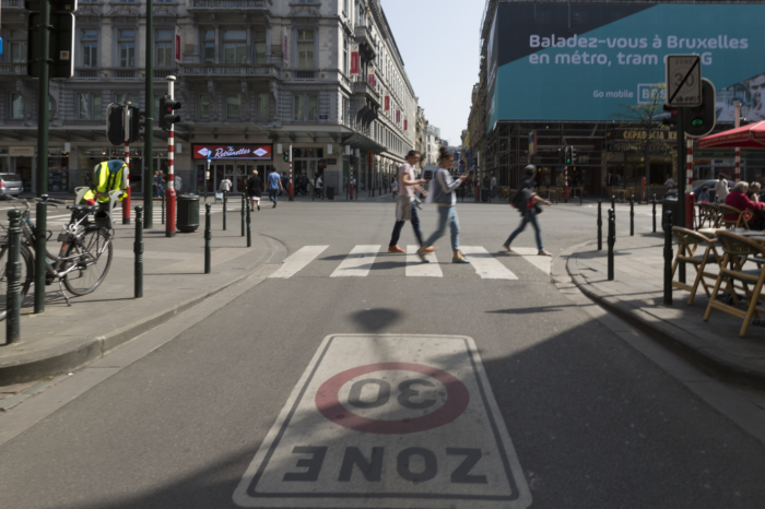 Brussels City 30: are cars more polluting at 30 km/h?